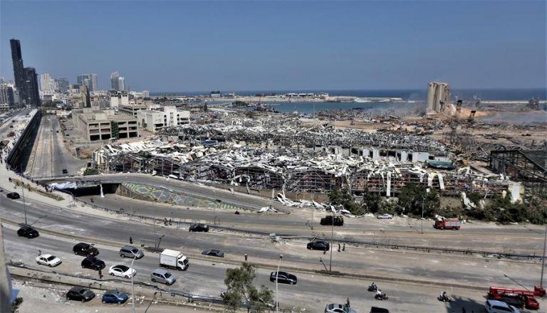 """El Consejo Supremo de Defensa libanés decretó ayer Beirut como """"zona catastrófica""""."""