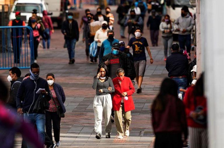 Ecuador confirma 95.563 contagios por coronavirus