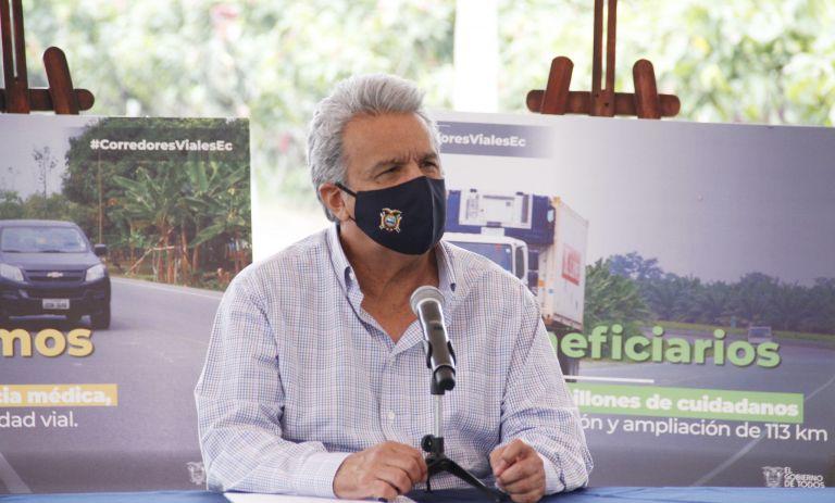 En su cuenta de Twitter, el presidente Lenín Moreno anunció la extensión del Estado de Excepción.