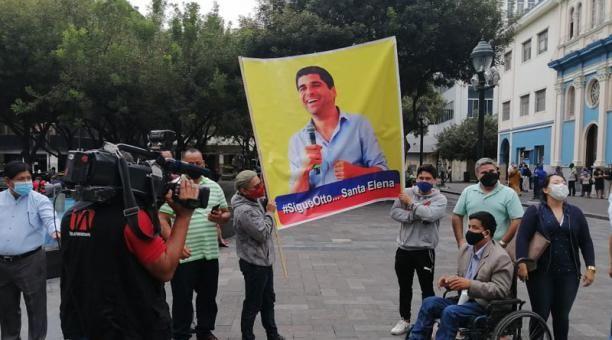 """""""Otto es la evolución de la política"""", resaltan los partidarios."""