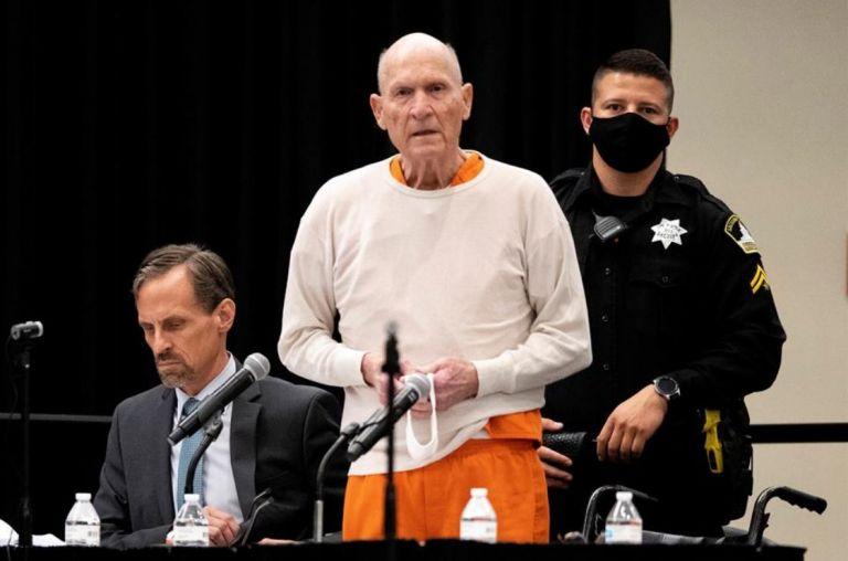 """Asesino serial Joseph James DeAngelo (""""Golden State Killer""""). Foto: EFE."""