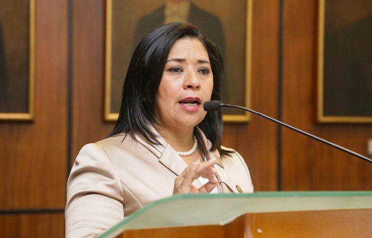 La Asamblea levantó la inmunidad de la representante de Manabí, Karina Arteaga, acusada de delito por concusión. Foto: Asamblea Nacional