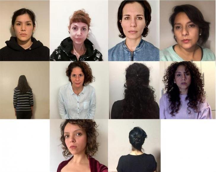 Combo de fotografías cedido por las denunciantes de Guillermo Castrillón.
