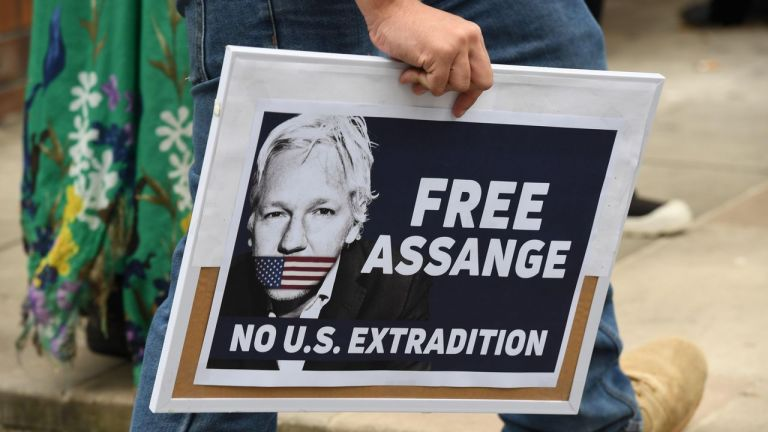 Trump, ofreció a través de intermediarios a Assange dejar de reclamar su extradición. Foto: EFE