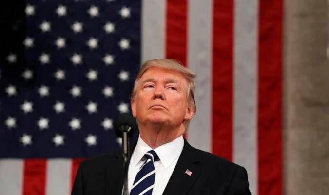 El presidente de Estados Unidos, Donald Trump. Foto:EFE