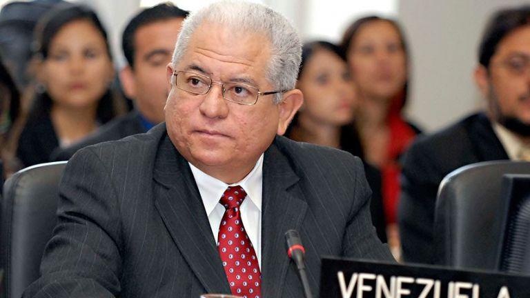 Embajador de Venezuela, Jorge Valero, ante la ONU. Foto: EFE