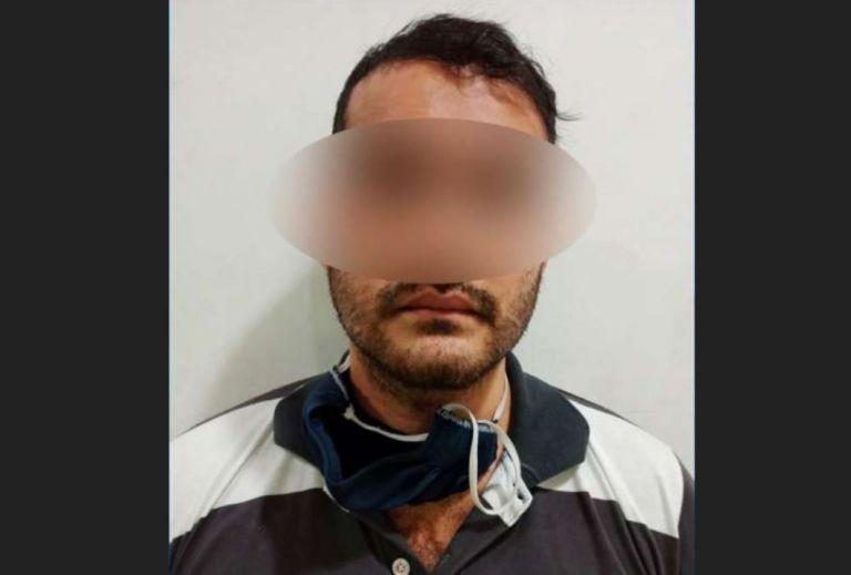 Franklin Lara fue detenido este marte 22 de septiembre del 2020 a las 17:30.