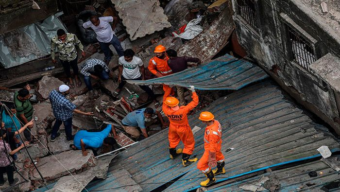 El operativo de rescate se extendió por 3 días. Foto: EFE