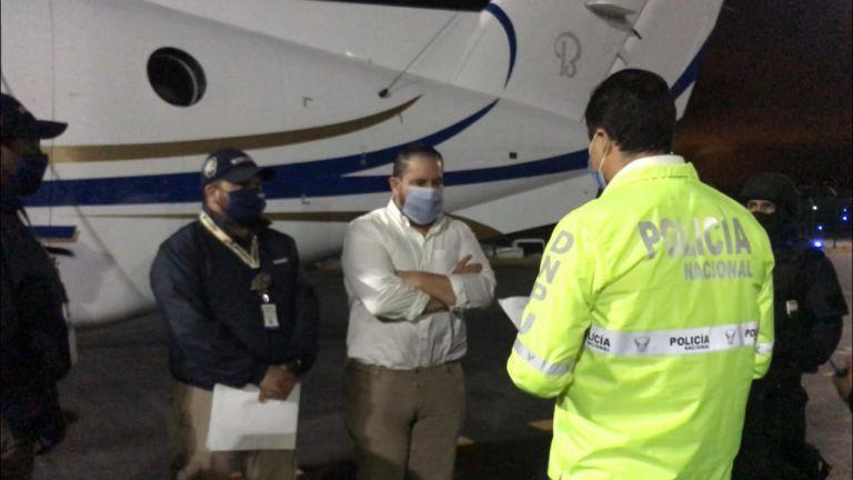 Jacobo Bucaram Pulley fue expulsado de Colombia para que enfrente en Ecuador dos procesos judiciales en su contra.