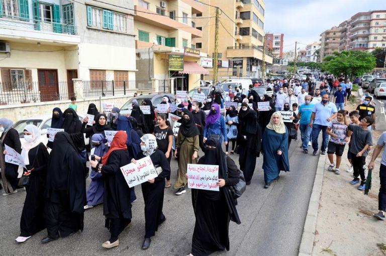 Las protestas en Libia han sido recurrentes debido a los deficientes servicios básicos. Foto: EFE.