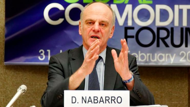 El doctor David Nabarro es enviado especial de la OMS en Europa sobre temas de COVID-19.