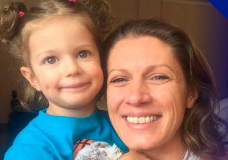 Valéri López junto a su hija Tessy Verrier. Foto tomada de Notimundo