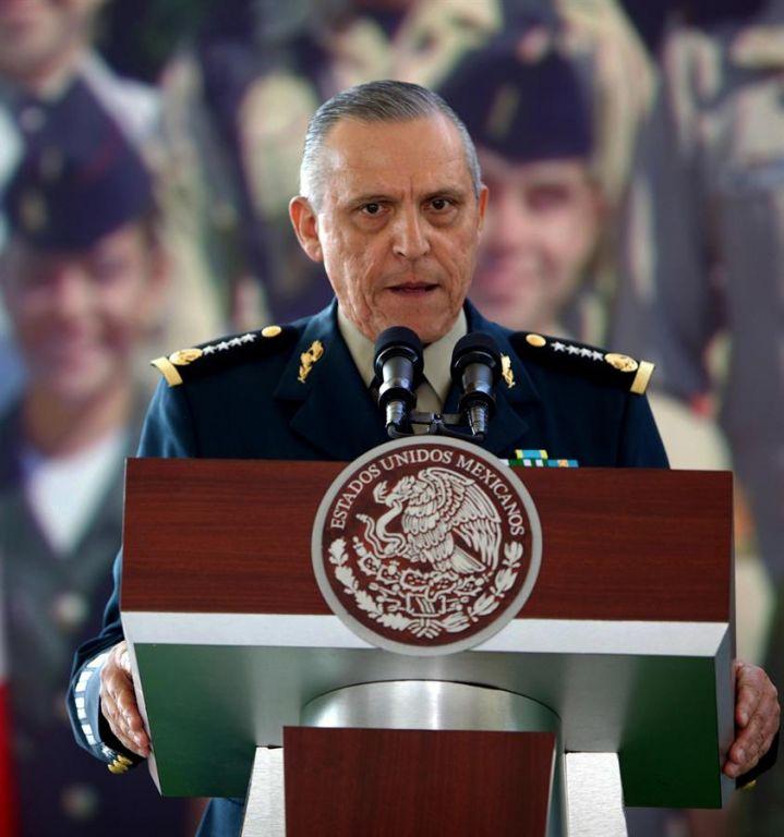 Salvador Cienfuegos, el ministro de Defensa del Gobierno de Enrique Peña Nieto (2012-2018), fue arrestado en Estados Unidos. Foto: EFE.