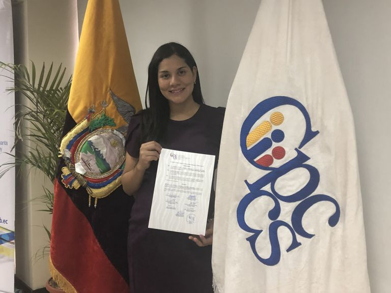 Sofía Almeida es la nueva presidenta del Consejo de Participación Ciudadana. Ella es hija de Pedro Almeida, exgobernador de Los Ríos, y sobrina del Luis Almeida, radiodifusor y concejal por el Partido Social Cristiano.