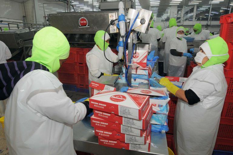 Las empacadoras de camarón constan en el ranking de la industria alimenticia.