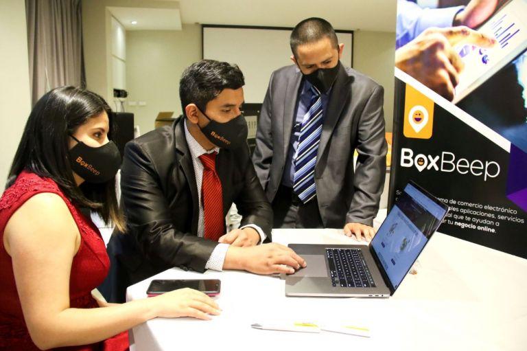 BoxBeep es un ecosistema de e-commerce ecuatoriano que busca reactivar a las Pymes. Foto: Cortesía.