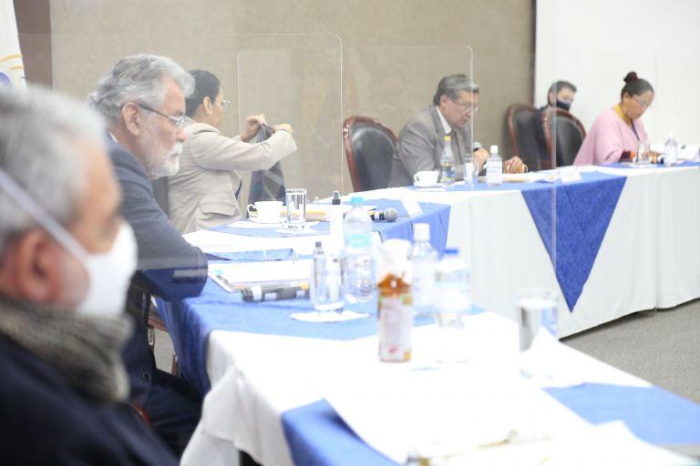 Los cinco consejeros del CNE se reunieron para aprobar a las organizaciones políticas que recibirán un fondo económico y habilitaron una empresa que harán proyecciones electorales para los comicios de 2021.