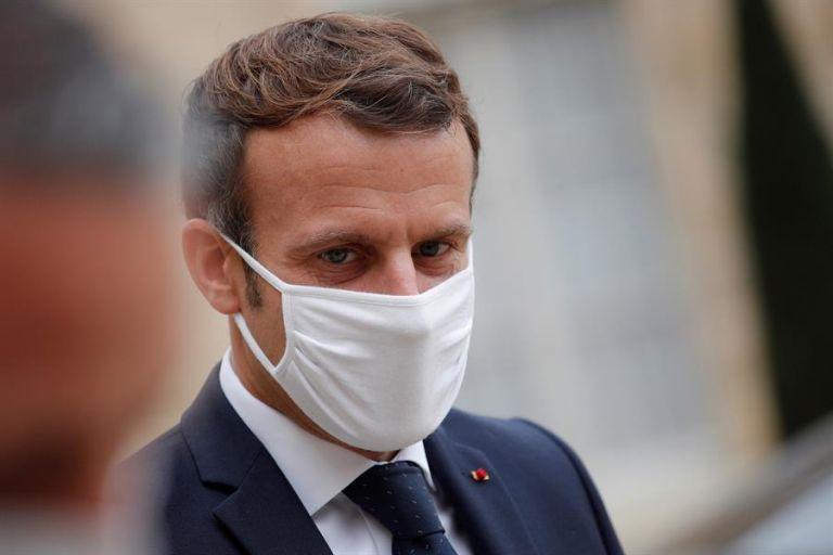 """Macron defendió que, si no se pone """"un freno brutal"""" a los contagios, los """"hospitales quedarán saturados"""". Foto: EFE"""