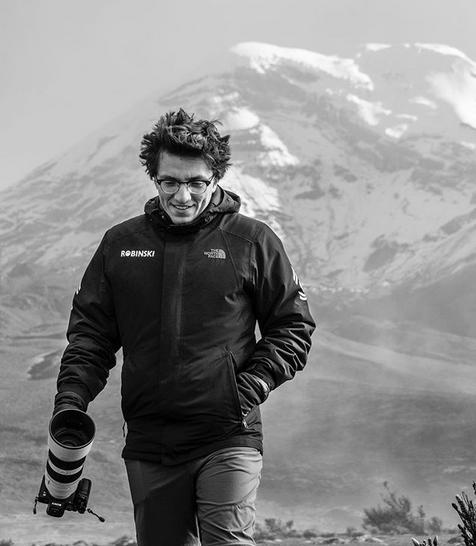 Valdez ha logrado a sus 28 años conquistar cumbres para mostrar varios parajes ecuatorianos. Foto: Instagram.