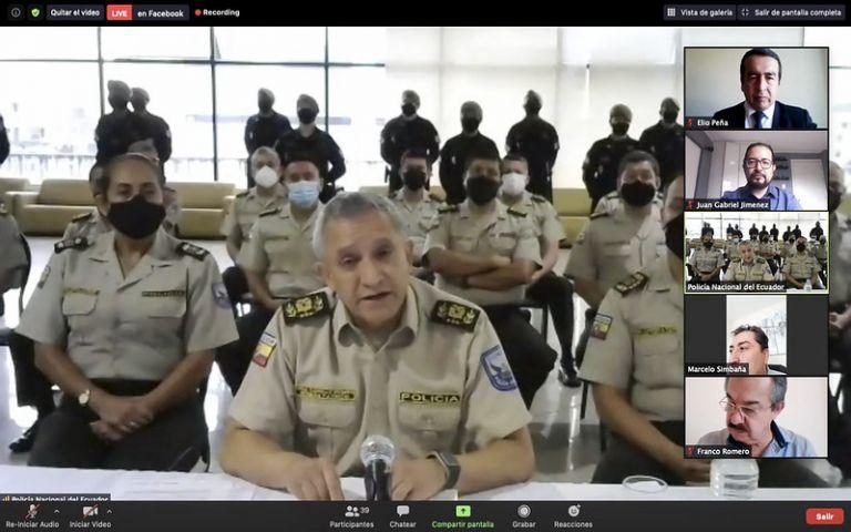 Carrillo indicó que el accionar policial responde a los niveles de violencia con que actúan los grupos beligerantes.