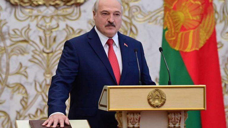 El presidente de Bielorrusia, Alexandr Lukashenko. Foto: EFE
