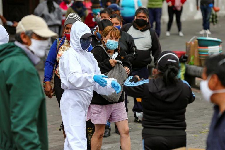 La cifra de muertos llegó este domingo a 8.507, quince más que el sábado. Foto: EFE