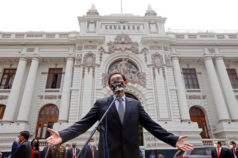 Vizcarra asumió al cargo en 2018, tras la renuncia de Pedro Pablo Kuczynski. Foto: EFE