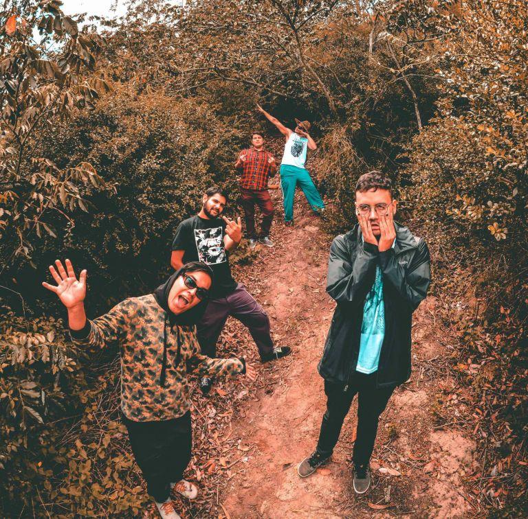 Los integrantes de la banda 'Don Bolo', Ernesto Montenegro,  José Hernández,  Luis Sigüenza, Daniel Gachet  y Pedro Naranjo. Foto: Cortesía