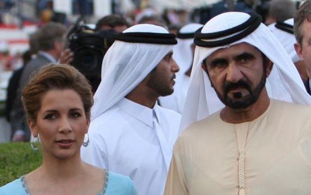 La princesa le enviaba fotografías suyas en traje de baño, lo que hizo confirmar a la mujer sus sospechas. Foto: archivo