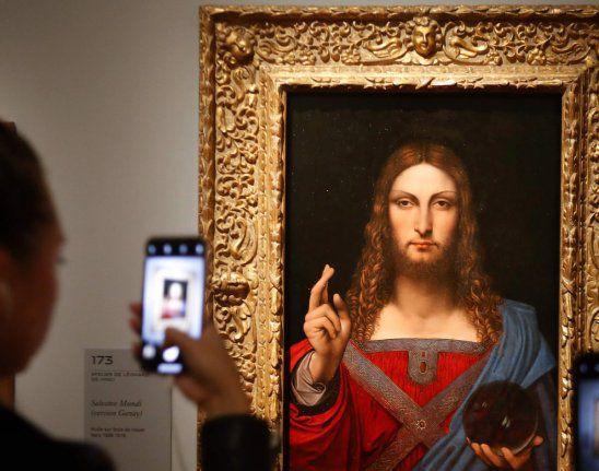El Salvator Mundi es considerado el cuadro más caro de la historia con un valor de 450 millones de dólares.