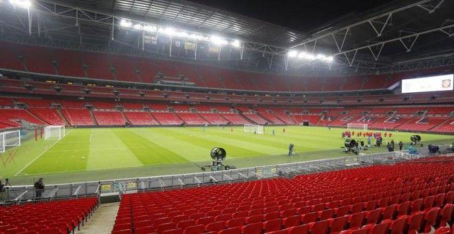 Estadio Wembley en Londres. Foto: EFE
