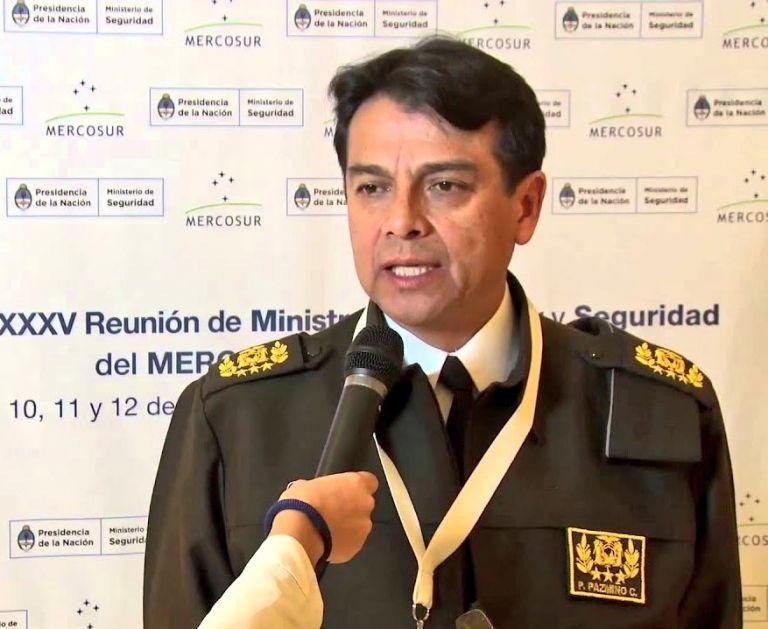Patricio Pazmiño es el nuevo ministro de Gobierno