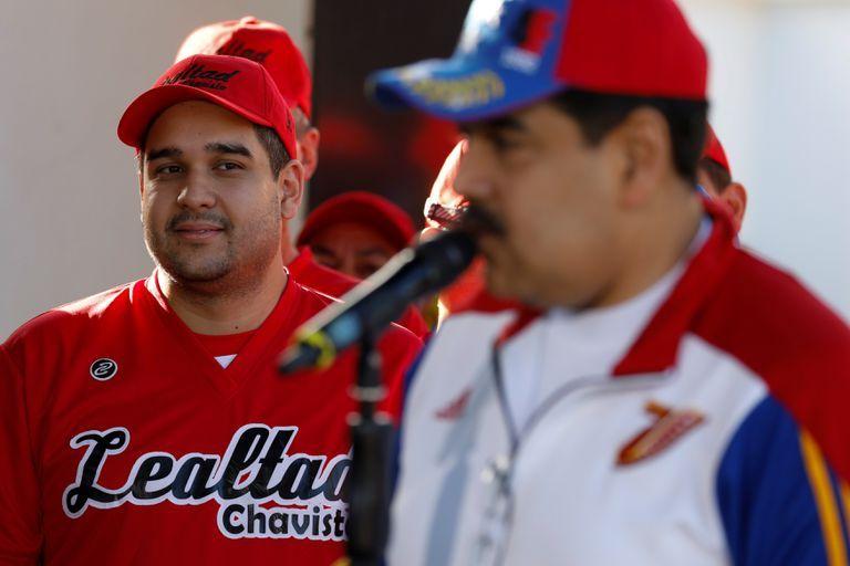 """Nicolás Maduro apodado """"Nicolasito"""", hijo del presidente de Venezuela Nicolás Maduro. Foto El País"""
