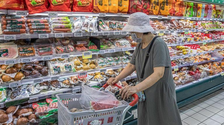 """El Gobierno chino aprobó el 9 de noviembre un """"plan de desinfección integral de los alimentos importados de la cadena de frío"""". Foto: EFE"""