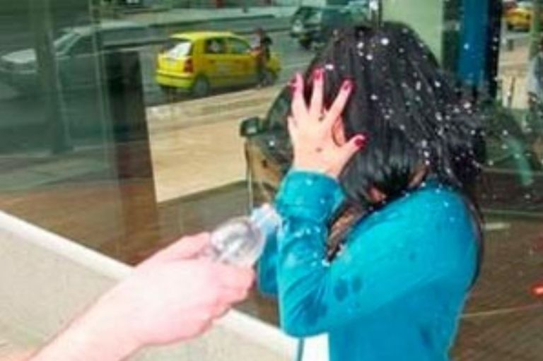 El hombre fue condenado a más de 30 años de prisión por ataque con ácido a su excompañera sentimental.
