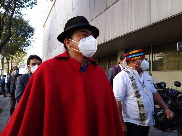 Los dos dirigentes indígenas tienen en total 8 expedientes abiertos por los hechos ocurridos durante las protestas de octubre de 2019.