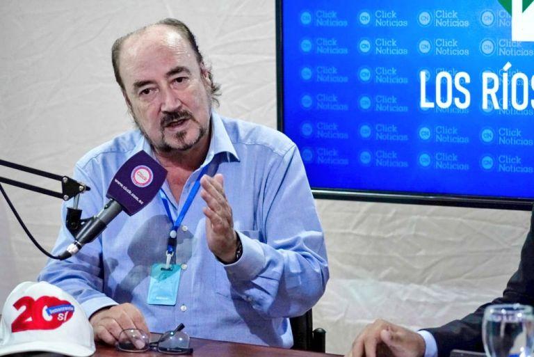 Larrea es el segundo candidato presidencial contagiado de COVID-19 en estos días.
