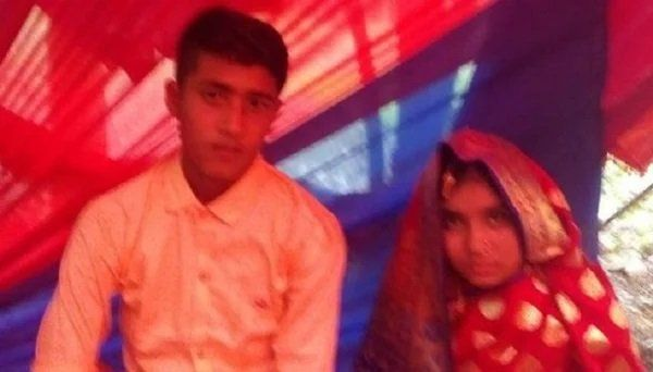Taslima Begum y su esposo Farid Foto: Daily Bangladesh