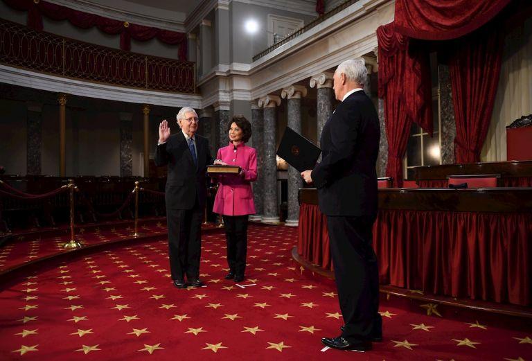 Al menos 12 senadores y unos 140 legisladores planean oponerse a la ratificación del triunfo presidencial de Joe Biden, durante la sesión del Congreso del 6 de enero programada con ese objetivo.