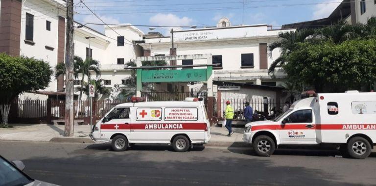 El sospechoso se encuentra bajo vigilancia médica en un hospital de Babahoyo.