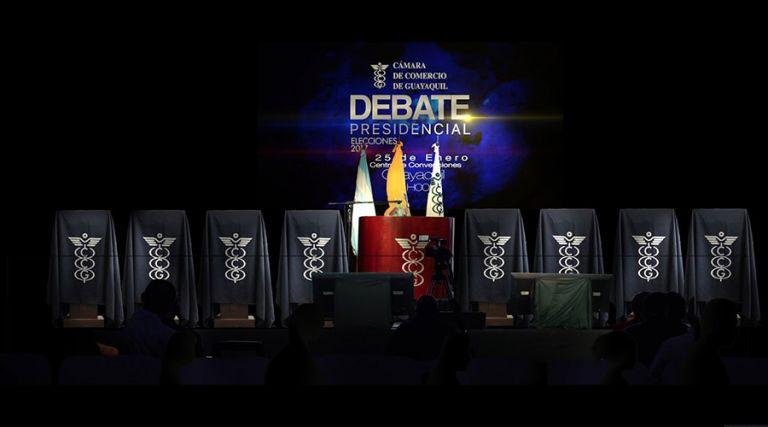 El debate presidencial de primera vuelta se realizará el 16 y 17 de enero próximos.