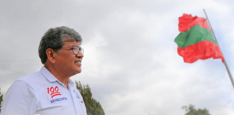 Rivera, quien buscaba un curul en la Asamblea por la provincia de Tungurahua, estuvo internado desde diciembre del año pasado.