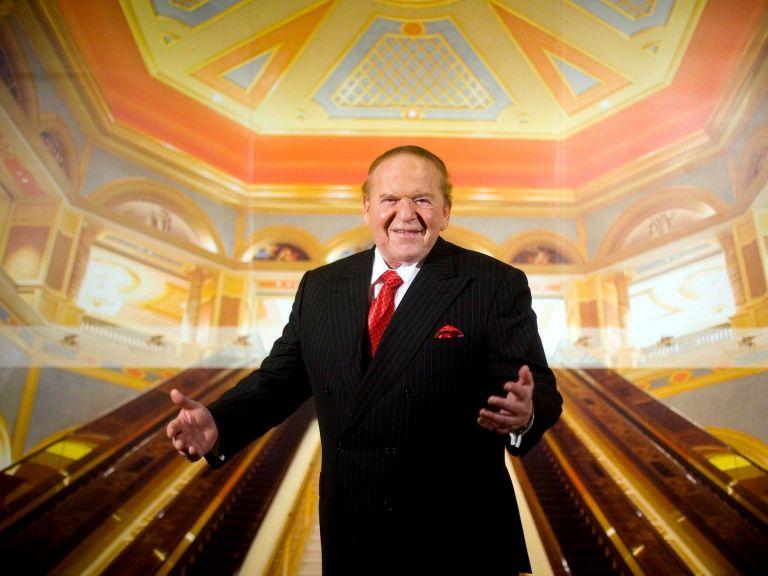Sheldon Adelson, en una entrevista en el hotel Venetian de Macao, en agosto de 2007.Foto: EFE