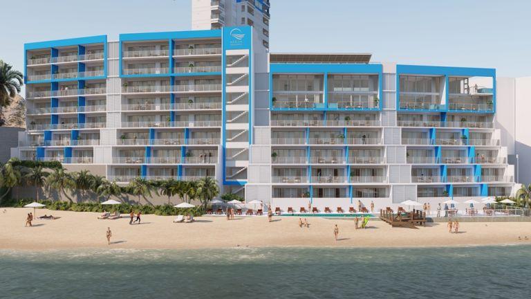 La construcción del edificio Ocean Suites & Lofts presenta un avance del 50 por ciento.
