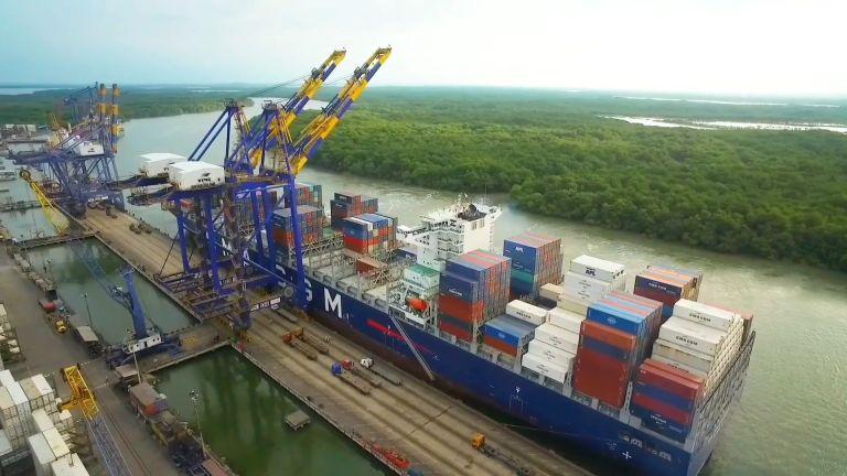 Un total de 273 naves fueron atendidas en los muelles de TPG durante el año pasado.