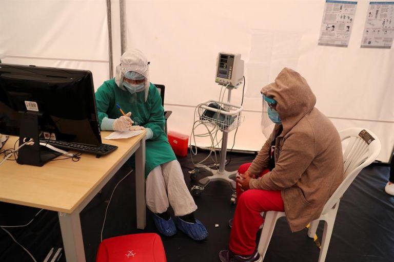 El nivel de contagio de los últimos días rondaba los 1.000 diarios. Foto: EFE