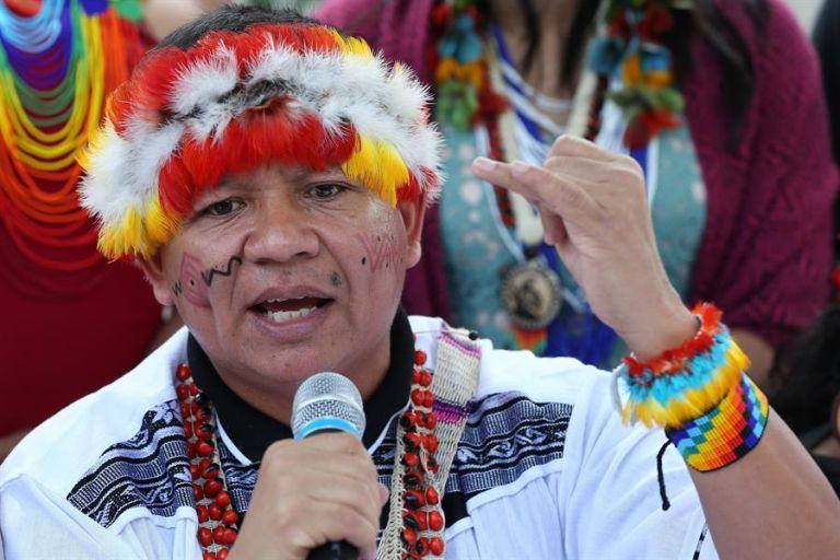 Solo en Brasil se han registrado más de 30.000 casos en 140 naciones indígenas. Foto: EFE