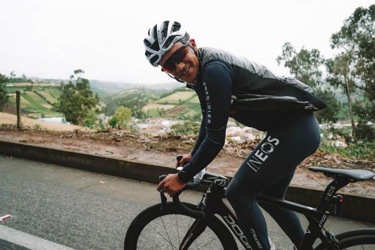 Los dos objetivos de Richard: el Tour de Francia y los Juegos Olímpicos de Tokio. Foto: EFE