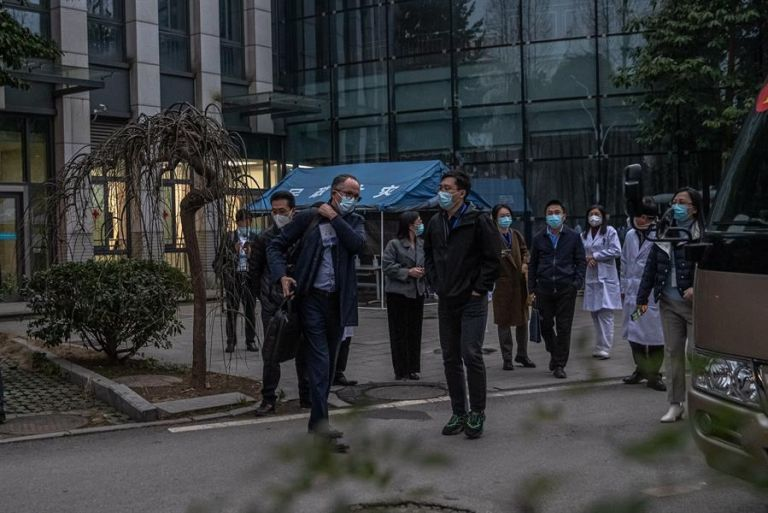 Pekín ha intentado sacudirse la responsabilidad de un posible inicio de la pandemia en su territorio. Foto: EFE