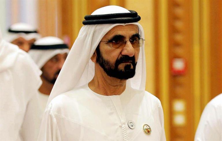 Mohammed bin Rashid Al Maktoum figura entre los 15 miembros de la realeza más ricos del mundo. Foto: EFE
